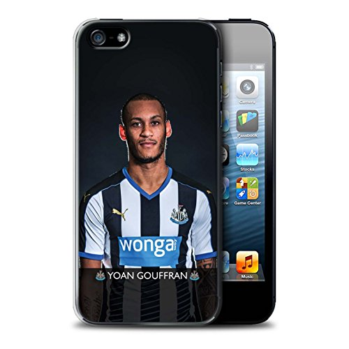 Offiziell Newcastle United FC Hülle / Case für Apple iPhone 5/5S / Pack 25pcs Muster / NUFC Fussballspieler 15/16 Kollektion Gouffran