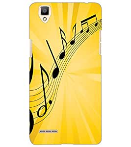 OPPO F1 MUSIC Back Cover by PRINTSWAG