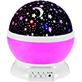 LED Star Master Rotating Night Light Projector Spin Starry Sky Star Master Children Kids Baby Sleep Romantic Led USB Lamp Pro
