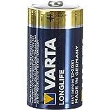 Varta Longlife D mono LR20 Batterij Alkaline Batterijen – ideaal voor afstandsbediening radio wekker en klok, verpakking met