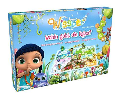 Noris Spiele 606011586 - 'Wissper - Wohin geht die Reise?' Kinderspiel
