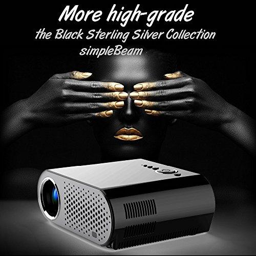 3200lumens portable pico led mini HDMI 1280 * 800 projecteur de jeux vidéo pochette numérique home cinéma Projecteur projet Beamer