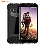 OUKITEL WP1 Dual SIM Outdoor Smartphone ohne Vertrag 5.5 Zoll Android 8.1 4GB RAM 64GB Handy IP68 Wasserdicht Stoßfest Staubdicht 13MP+0.3MP+5MP HD+ Robuste Handy WiFi Bluetooth GPS