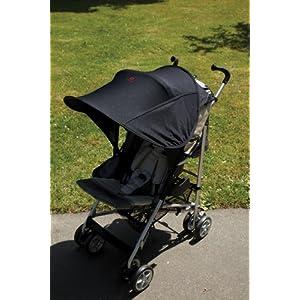 Diono Shade Maker Universal Stroller Sun Shade Canopy (Black)
