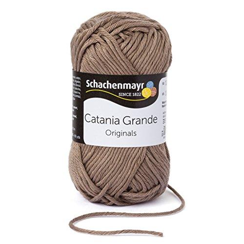 Schachenmayr Catania Grande 9807331-03254 taupe Handstrickgarn, Häkelgarn, Baumwolle