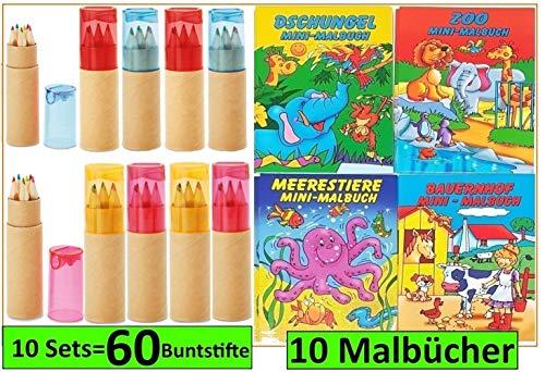 it Spitzer für Kinderparty Hochzeit Restaurant Geschenk mit Malbücher (Mehrfarbig) ()