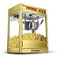 DUANJY Máquina de Palomitas de maíz Totalmente automática Automática Esférica Salud sin Grasa Aire Caliente Máquina