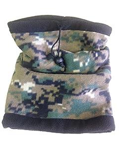 RÉversible Tour De Cou Camouflage / Masque / Cagoule/ Protection Micro Fibre Polaire - Airsoft / Paintball / Moto / Ski / Outdoor