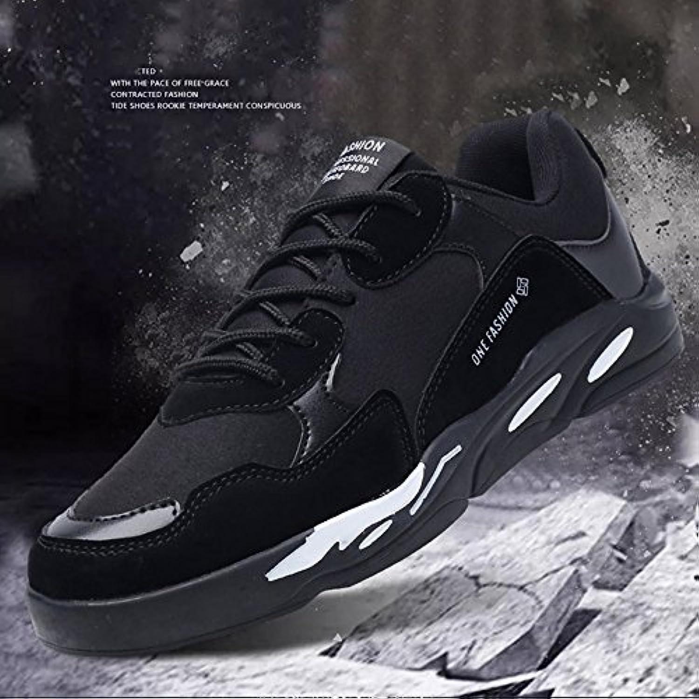 XIAOLIN  Warme Schuhe Männer Freizeitschuhe Student Leinwand Schuhe Wilde Schuhe Männlich ( Farbe : Schwarz
