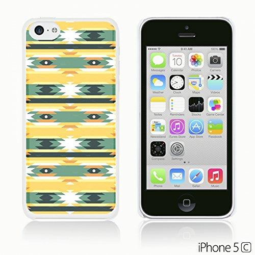 OBiDi - Geometrical Pattern Hardback Case / Housse pour Apple iPhone 5C - Funny Tribal Print Funny Tribal Aztec Pattern
