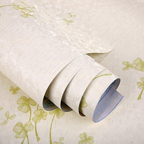 YUELA PVC selbstklebend Wallpaper Wallpaper, Kunststoff Schlafzimmer, Wohnzimmer Hintergrund 45 cm breit, 10 m, zwei tausend und fünfzig - drei