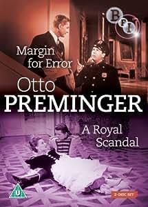 Margin for Error/A Royal Scandal (2-Disc Set) [DVD] (1943/1945)