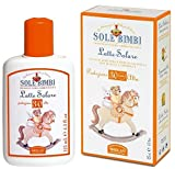 Best Sun Organic Umbrellas - Sole Bimbi SPF 30 Sun Milk Baby Review