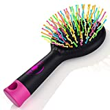 Color: black the no pain hair brush youâ€ve always wanted kiss pain goodbye tired of regular hair brushes that rip out hair with every brush, and make you dread dressing up yourself or the kids in the morning? then you need to try out this amazing de...