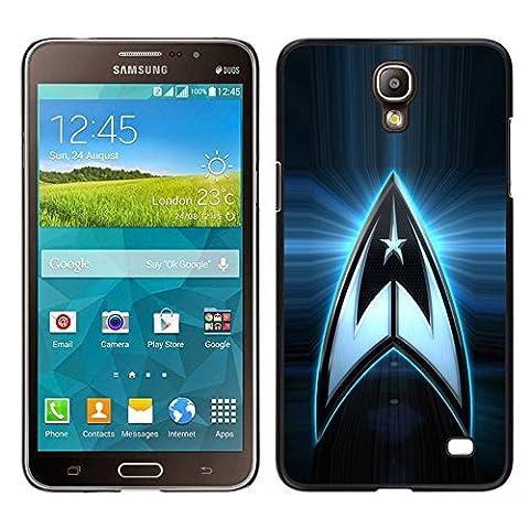 MDMG / Snap On Hartschalen-Case Schutzhülle Hülle - Sterne-Besatzung Raum Logo - Samsung Galaxy Mega (Besatzung Glas)