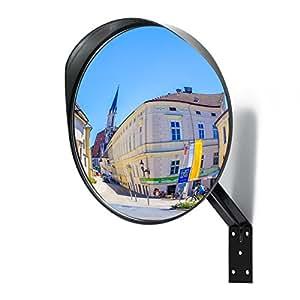 miroir convexe premium miroir de s curit incurv r glable de 30 cm pour l 39 int rieur et l. Black Bedroom Furniture Sets. Home Design Ideas