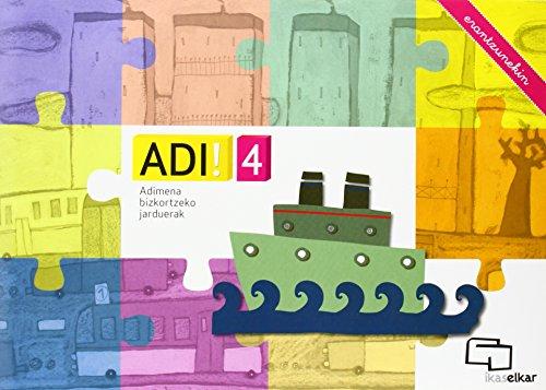 ADI! 4. Adimena bizkortzeko jarduerak (erantzunekin)