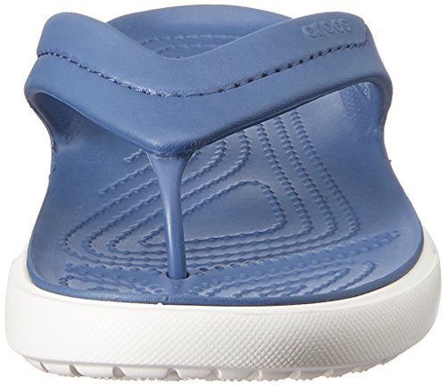 Crocs Citilane Flip Ciabatte, Unisex Adulto Blu (Bijou Blue/White)