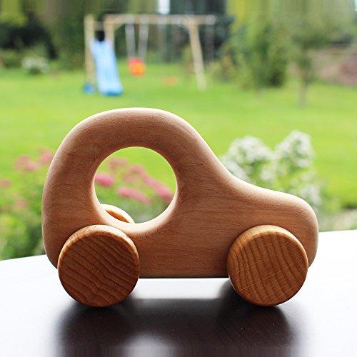 "Auto aus Holz   Greifauto Typ \""Holz Royce\""   Holzauto   Spielzeugauto   Greifspielzeug   Handmade"