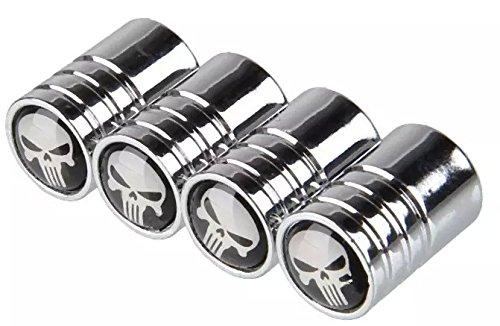 Goliton® Valve testa del cranio design auto per pneumatico della gomma della rotella antipolvere tappi