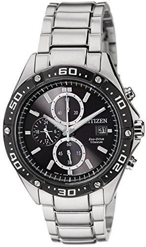 Preisvergleich Produktbild Citizen Eco Drive Chronograph Titanium Gents CA0030-61E