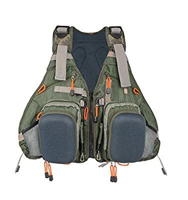 Kylebooker Fly Fishing Backpack & Vest Combo- Premium Fishing Tackle Vest For Men & Women- Upgraded Design Adjustable Fly Fishing Accessory For Fishing Gear Organization from Kylebooker