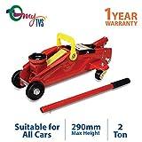 #4: myTVS 2 Ton Car Hydraulic Trolley Jack