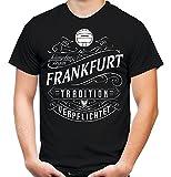 Mein leben Frankfurt T-Shirt | Freizeit | Hobby | Sport | Sprüche | Fussball | Stadt | Männer | Herren | Fan | M1 Front (L)