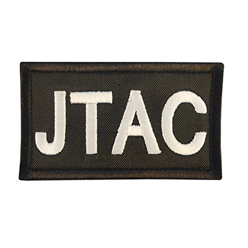 JTAC Joint Terminal Attack Controller Army Air Support FAC Taktisch Tactical Embroidered Fastener Aufnäher Patch - Shoulder Support Rig