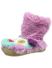 Hatley Lbh Kids Slippers-Owls, Zapatillas de Estar por Casa para Niñas