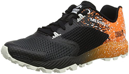 Merrell All out Crush Tough Mudder 2, Scarpe da Trail Running Donna, Nero (Tm Orange), 42.5 EU