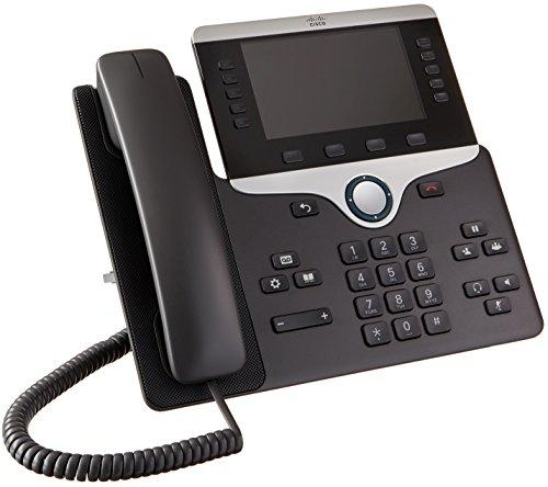 Cisco 8851 Terminal con conexión por cable Negro - Teléfono IP (800 x 480  Pixeles, 12,7 cm (5