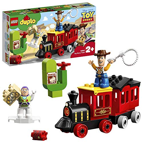 DUPLO Toy Story TM Lego 10894 Duplo Toy Story 4 Train for Toddler with Buzz and Woody Figures, Multicolour Best Price and Cheapest