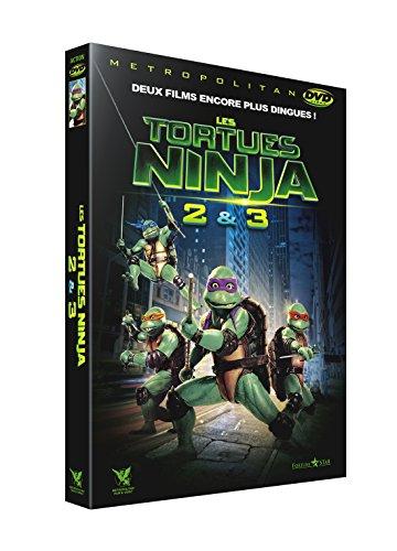 Les Tortues Ninja 2 & 3 : Le secret de la mutation + Les Tortues Ninja 3 : Nouvelle génération