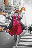 empireposter - Monroe, Marilyn - Jadei Graphics - New York Walk - Größe (cm), ca. 61x91,5 - Poster, NEU -