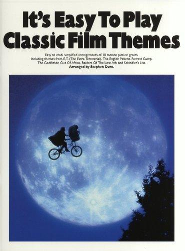 Preisvergleich Produktbild It's Easy To Play Classic Film Themes. Für Klavier & Gitarre(mit Akkordsymbolen)