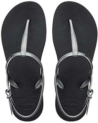 Havaianas Freedom, sandales Femme, Noir (black/graphite 1164), 35-36 BR (37-38 EU)