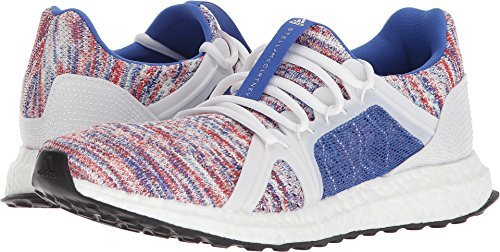 adidas by Stella McCartney Women's Ultra Boost Parley Hi-Res Blue S18/Core White/Dark Callistos 07 8.5 M US