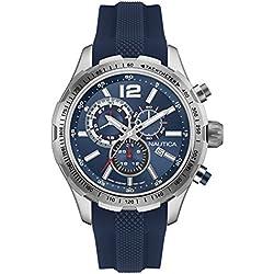 Nautica Reloj con movimiento cuarzo japonés Man Nst 30 Nai15513G 45 mm