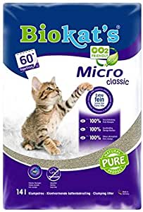 GIMBORN PRODUCTS Gimborn Biokats micro Classic lettiera 14l