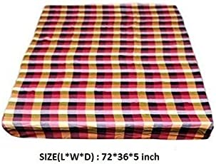 RD TREND Cotton Mattress Cover/BedCover For Single Bed With Zip-(Available 4 size),Multicolor +Free Kitchen Cloth Napkin