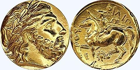 ZEUS, König der Götter, griechischen Götter und Göttinnen Coin Collection (# 4G)