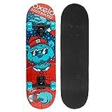 Weiyue Planche à Roulette- Débutant Enfants Skateboarding Débutants Quatre-Roues (Couleur : B, Taille : 70X20X10CM)
