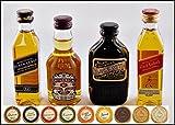 "Exklusives Set ""Scotch Whisky"" mit 4 Scotch Blended Whisky Miniaturen"