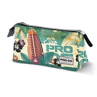 PRODG PRODG Surfboard-Dreifach HS Federmäppchen Estuches 24 Centimeters Multicolor (Multicolour)