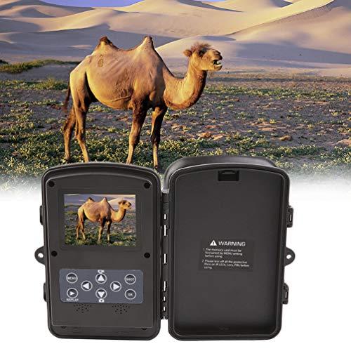 Gusaman 1080P HD Jagd-Wildkamera im Freien PIR IR Motion Scouting Trail Camera#X -