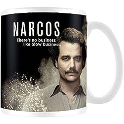 Narcos Pablo Escobar Taza de cerámica, multicolor