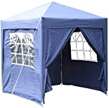 Airwave Pop-Up-Pavillon, 2 x 2 m, blau