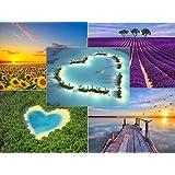 """Edition Colibri Lot de 50 cartes postales """"Paysages magnifiques""""–Idéal pour le Postcrossing et ceux qui écrivent beaucoup"""