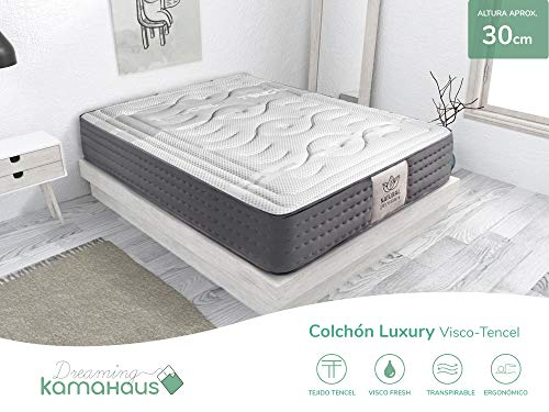 Colchón Luxury Visco-Tencel | 160x200 | Altura: ±30cm
